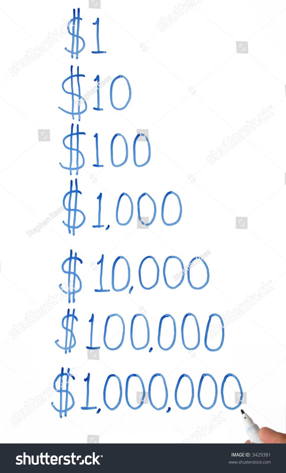 ppt矢量图 美元